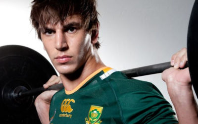 Behind The Scenes With Eben Etzebeth